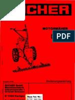 Bucher-Tielbürger Balkenmäher T66 Bedienungsanleitung .pdf