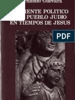 Ambiente Politico Del Pueblo Judio en Tiempos de Jesus Guevara Hernando