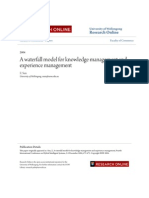 A waterfall model for knowledge management and experience management.pdf