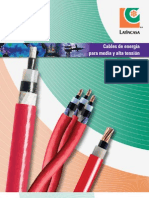 Caract Cables ALTA TENSION