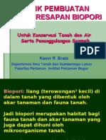 Teknik Pembuatan Biopori