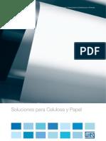 WEG Soluciones Para Celulosa y Papel 50023630 Catalogo Espanol