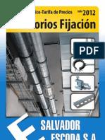 Accesorios Fijacion Catalogo Julio 2012