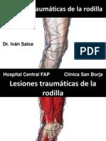 URP Lesiones Traumaticas Rodilla 2013
