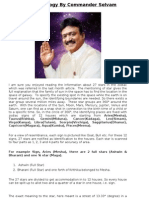 Correct Vedic Astrology by Commander Selvam