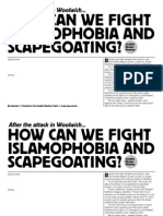 After the Woolwich Attacks - SWP meeting template