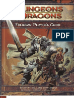 Dungeons and Dragons Eberron Player's Guide