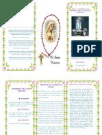 Tirptico de La Virgen de Fatima