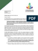 Ponencia  de la Comisión de Cooperativas de Tipos Diversos ante la Legislatura de Puerto Rico el 22 de mayo de 2013 sobre el PS 0507 y 0544