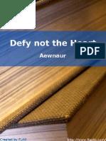 Aewnaur - Defy Not the Heart