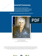 Program_Lt. Gen. Andrews_Memorial 3rd May 2013