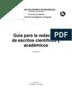 Guía de Redaccón Científica y Académica