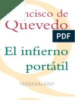 El Infierno Portatil - Francisco de Quevedo y Villegas