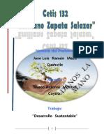 Desarrollo Sustentable Marco Antonio