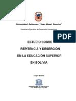 1318974304Estudio Sobre Repitencia y Desercion en La Educacion Superior en Bolivia