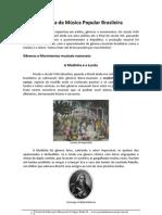 Gêneros - História da Música Popular Brasileira