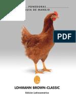 Guía manejo ponedoras lohman