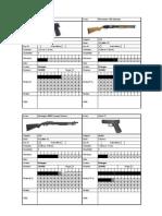 [Item Sheet] Firearms
