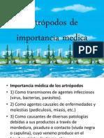 Artrópodos de importancia medica