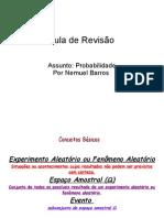 AULA DE REVISÃO DE PROBABILIDADE