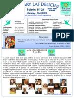 Boletin Rotary N° 24 Abril 2013