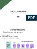 Unit-8 Micro Controller 8051