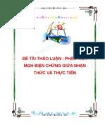Phan Tich Moi Quan He Bien Chung Giua Nhan Thuc Va Thuc Tien 1691