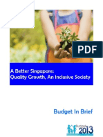 FY2013 Budget in Brief