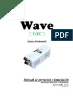 020_Manual de Operacion e Instalacion Inversor Wave Lite V1.2