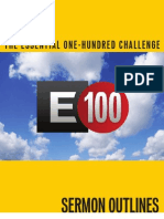 29078248 Essential 100 Sermon Outlines