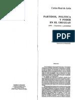 Real de Azúa - Partidos, politica y poder en el Uruguay...