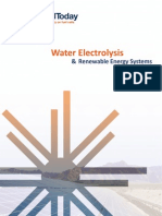 Water Electrolysis - Renewable Energy Systems