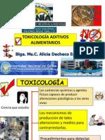 Toxicologia Aditivos Alimentarios Xiiconia2012 Unprg-lambayeque