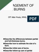 Burns in pediatric patient