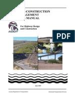 Adot Post Construction Bmp Manual
