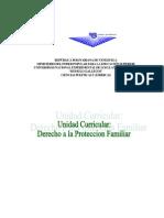 Derecho de Proteccion Familiar