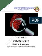 Criminologie_AN II, Sem 1