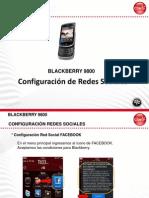 BB9800 Configuracion Redes Sociales