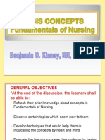 Fundamentals of Nursing Basic Concepts