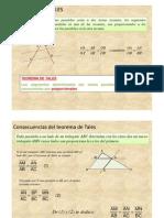 Tales Teoremas