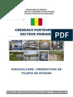 Pisciculture Production Tilappia en Etangs