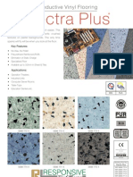 Conductive Vinyl Flooring Electra-plus Catalog