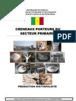Production d'Attapulgite