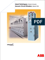 Sergregation of Switchgear -ABB | Electric Arc | Cable