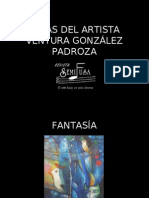 OBRAS DEL ARTISTA VENTURA GONZÁLEZ PADROZA
