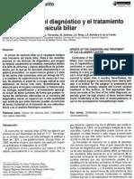 Actualización del dx y tto de ca de vesícula