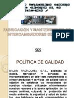 FABRICACIÓN Y MANTENIMIENTO DE INTERCAMBIADORES DE CALOR-PRESENTACIN PARA EMPRESAS