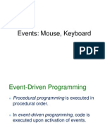 Java Events GridBagLayout for Graphic user interface