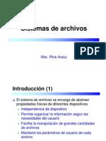 Sistemas de Archivos B
