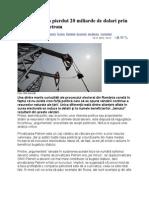 Statul român a pierdut 20 miliarde de dolari prin privatizarea Petrom
